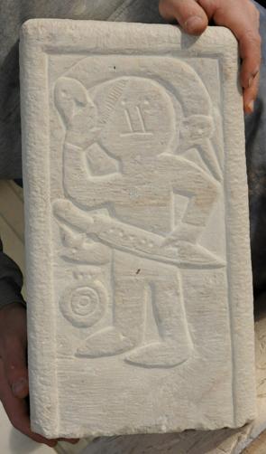 Der Grabstein von Niederdollendorf