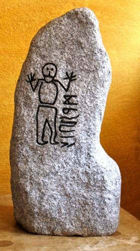 Wikingerzeitlicher Runenstein